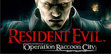 logo image Resident Evil Operation Raccoon City