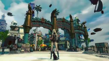 Gravity Rush 2 capture d'écran