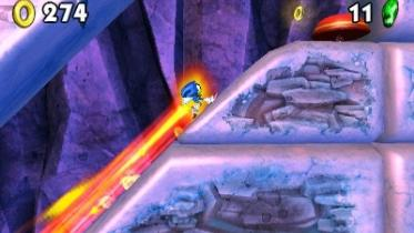 Sonic Boom: Fire & Ice capture d'écran