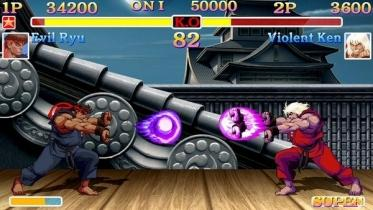 Ultra Street Fighter II: The Final Challengers capture d'écran
