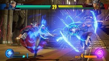 Marvel vs. Capcom: Infinite capture d'écran
