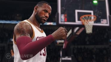 NBA Live 18 capture d'écran