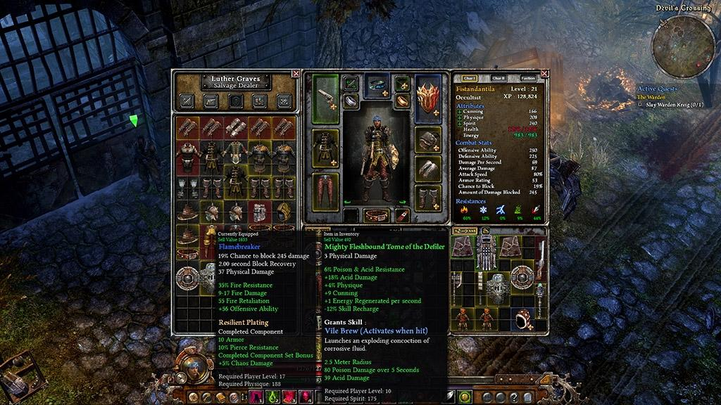 Grim Dawn Build Pet Fr